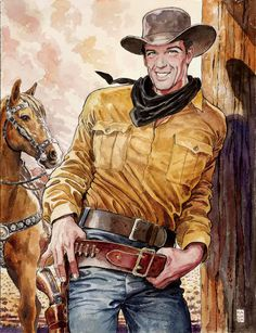Tex Willer by Milo Manara