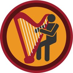 Lifescouts: Harp Badge