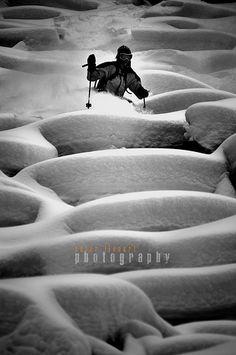 Freeride skiing