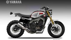 "Yamaha XSR 900 ""Dirtiest Sons"" by Oberdan Bezzi"