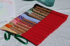 Colorpencils in a colorbag! by Mme Zsazsa
