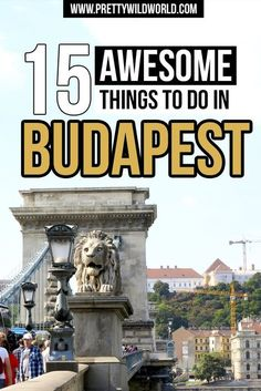 FREE CHECKLIST! Budapest Hungary travel | Budapest things to do | Budapest Hungary food | Budapest Hungary Architecture | Budapest travel guide | Places to see in Budapest