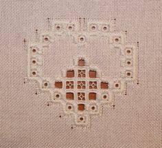 Humming Needles: HCO- how to cut hardanger tutorial