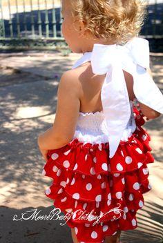 Wynn's polka dot dress