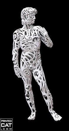 Michelangelo's David got transformed in this crazy 3D print