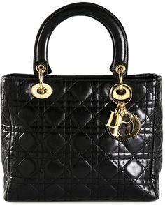Christian Dior Vintage medium 'Lady Dior' tote - $2,299.00