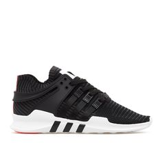 EQT Support Adv PK from the S/S2017 Adidas Equipment collection in black This sneaker is from Adidas Equipment new collection. The Equipment Support Adv PrimeKnit sneakers, here in black, features a super light PrimeKnit upper, moulded TPU support piece on the heel, compression-moulded EVA midsole for a lightweight cushioning and a rubber outsole. - 90's running sneaker - PrimeKnit upper  - OrthoLite sockliner - EVA midsole - Rubber outsole - Sizing: Footwear (UK) - Code: BB1260