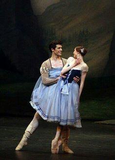 """Svetlana Zakharova and Roberto Bolle in """"Giselle"""""""