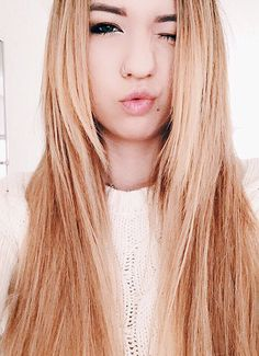 Mia Stammer is one of my Favorite YouTube queens. She is friends with Alisha Marie, LaurDiy, Ashley Nicole, etc. She was born in Okinawa, Japan and is 21 years old. She now lives in Los Angeles, California. She does comedy videos, fashion videos, morning routines, and etc. She is also a vlogger. Here's her new video: https://youtu.be/xqBxE0jXyyg In this she is wearing a white crochet sweater and probably some shorts and converse. She decided to straighten her hair today! #Queen #