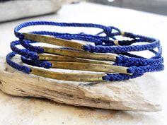 Mens bracelets Braided friendship bracelet  waxed by Beadstheater, $13.00