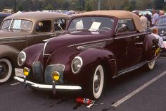 1938 Lincoln Zephyr convertible by carphoto, via Flickr