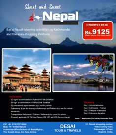 Thrilling Experience of #Nepal at Low Price We are offering special packages of India and #Nepal tour with wide variety of India tour #Nepal #tourist #destination. We are also offering #Buddhist #Tour with Nepal and wildlife tour in Nepal etc in affordable price.