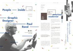 피플 인사이드 _ 폴 랜드 / Paul Rand _ 8p - 그래픽 디자인, 브랜딩/편집