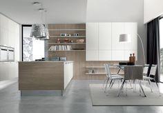 02 Contemporary kitchen VENUS by Zecchinon | Archisesto Chicago |