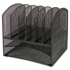 Shop for Lorell Horizontal Vertical Mesh Desk Organizer. Free Shipping on orders…