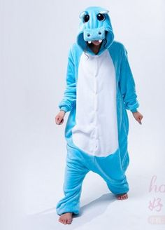 Blue Hippo Onesie for Adults – Unicorn Onesies