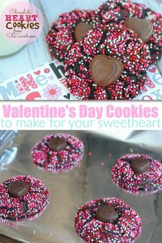 Valentine's Day Cookies to make for your sweetheart from She Saved.