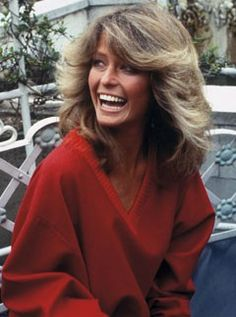 Long before Jennifer Aniston's Rachel, Farrah Fawcett created the first must have celebrity hair style, with the flick she sported on hit show Charlie's Angels. The series ran from 1976 to 1980 and turned Fawcett into a global style icon.