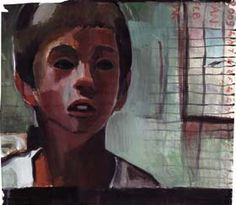 Boy by Jamie Boyd, watercolour on paper, 57 x 51cm available from: http://www.cornwallcontemporary.com/boyd_reche3.html