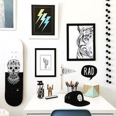Boys Stuff – Tween Style Bedroom