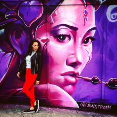 Came upon my self portrait photo cred Michelle C #london2016 #shoreditchstreetart #sundayfunday #holidayinlondon #oriental #selfportrait by keolii from Shoreditch feed from Instagram hashtag #shoreditch www.justhype.co.uk Hype Store - Boxpark Shoreditch.