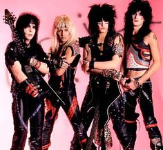 My FAVORITE 80s band!! Motley Crue I was in love with Vince Neil <3