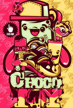 chocotoy is love by ChocoToy , via Behance