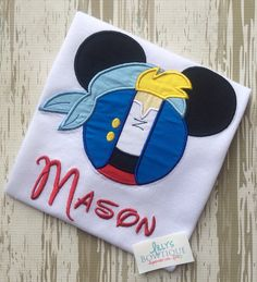 Cubby Mouse Shirt by LillysBowtique on Etsy, $23.00