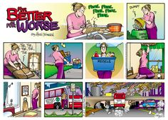 Lynn Johnston - A comic art genius. A talented female cartoonist who survives in a male dominated industry.