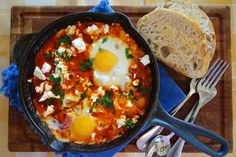 Dip 'n' Share Eggs - The Londoner (we'll make ours without the meat!)