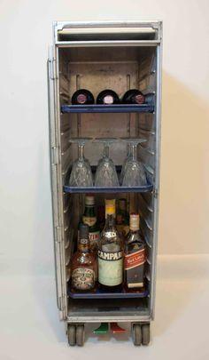 28 Best Airline Bar Cart Ideas Images Beverage Cart
