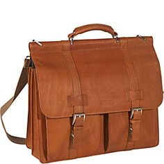 Kenneth Cole Reaction Mind Your Own Business - Columbian Leather Dowel Rod Computer Case - Tan - via eBags.com!