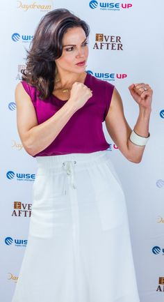 Lana Parrilla & her guns