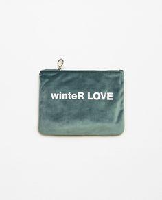SOFT VELVET BAG - Available in more colours