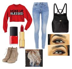 Cute and casual day out shopping! Nars Cosmetics, Collages, Day, Casual, Cute, How To Make, Polyvore, Shopping, Image