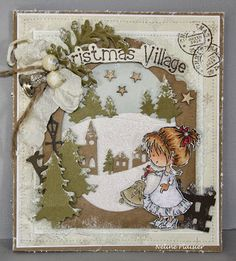 Daisys jingle bells - Card Creations.   I am going to have to get creative to recreate something similar, but it is so cute!