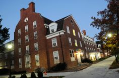 Ohio University: Wilson Hall, which has been considered the most famous haunting at Ohio University, has a number of spooky stories. One room in particular, No. 428, has been sealed permanently after claims of voices and paranormal activities.