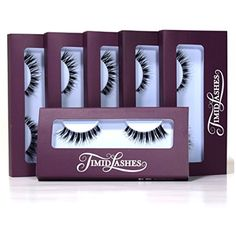 Demi Whisper by Timid Lashes  SixPack Premium Quality False Eyelashes -- You can get more details by clicking on the image. (Note:Amazon affiliate link)