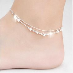 Online shopping for Silver Anklets with free worldwide shipping