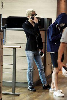 150913: EXO Sehun | Chongqing Airport to Incheon Airport