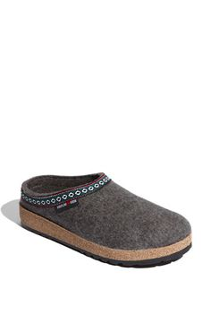 Haflinger 'Classic Grizzly' Slipper or something similar with a hard sole