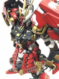 GUNDAM GUY: GUNDAM GUY: READERS FEATURE GUNPLA BUILD - MG 1/100 Sword Strike Assault Musha Gundam by Desmond Tong