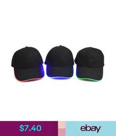 cb71f5ff76d Unisex Accessories Led Flashing Light Up Hat Glow Night Club Party Baseball  Hip-Hop Adjustable Cap
