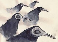 L'envol des corbeaux