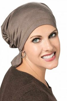 b7f9f4031c5 Gathered Scarf Beanie - Chemo Head Covering. BandanaHats For ...