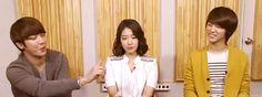 Jung Yong hwa, Park Shin hye, Kang Min hyuk