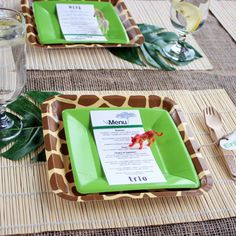 Hakuna Matata! Safari decor and jungle animals are a must and will put your baby shower in full swing!