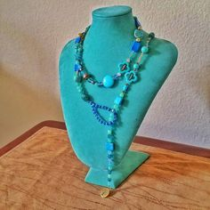 Check out this item in my Etsy shop https://www.etsy.com/listing/275177632/one-gorgeous-necklace-5-ways-to-wear-it