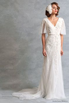 Eliza Jane Howell Wedding Dresses — Legend Bridal Collection, available now at shades of white!