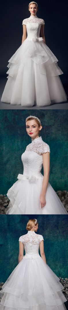 Floor length Wedding Dresses, White Floor length Wedding Dresses, Floor-length Long Wedding Dresses, Floor-length Wedding Dresses, Long Wedding Dresses, Charming High Neck Short Sleeves Lace Puffy Wedding Dresses, Short Wedding Dresses, White Lace dresses, Lace Wedding dresses, Long White dresses, Short White Dresses, White Long Dresses, High Neck dresses, Long Lace dresses, White Wedding Dresses, White Short Dresses, Short White Lace dresses, Short Lace Wedding dresses, Lace White dre...